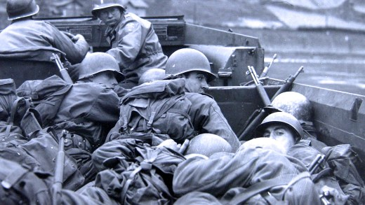 March 25, 1945  – The Rhine Crossings Continue – The Race To Berlin – The Allied Push East