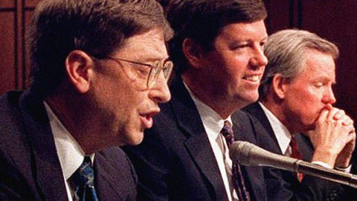 Microsoft: Bill Gates on Capitol Hill