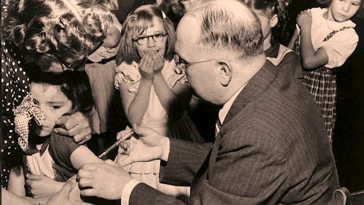 Salk Polio Vaccine - 1955
