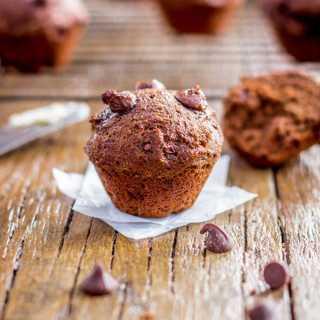Chocolate Chilli Muffins