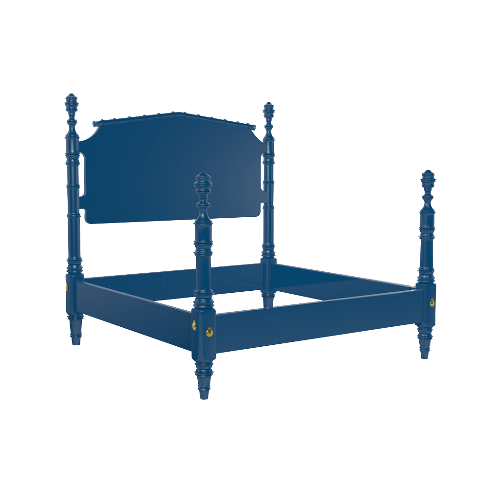 wilton 4 post twin bed frame hand