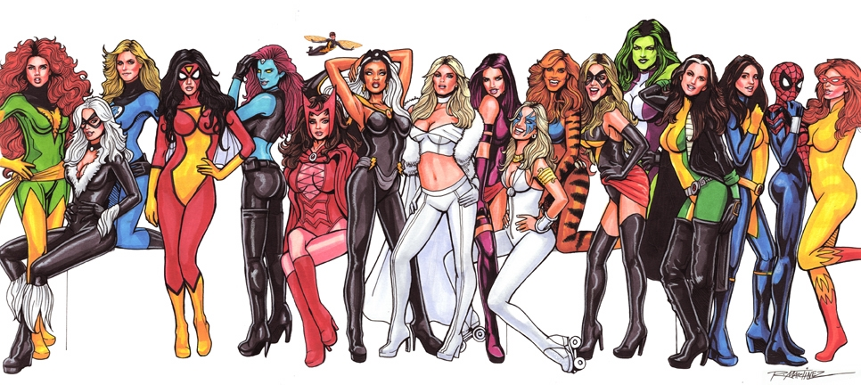 Image result for female superheroes