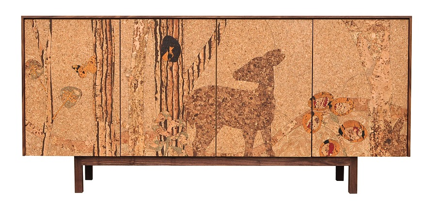 Cork Forest Sideboard by Iannone Design via oreeko