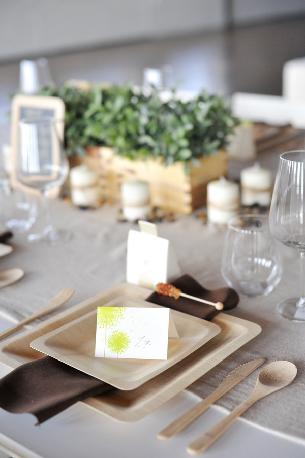 Eco-Friendly Table Setting by Occasion via oreeko.com