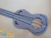 Construction Paper Guitar OT activity