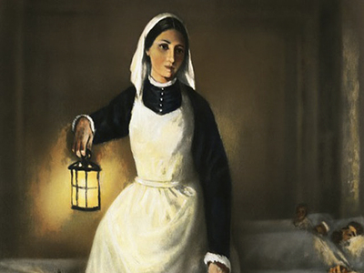 Florence Nightingale, The Lady of the Lamp · ourheritage.ac.nz | OUR  Heritage