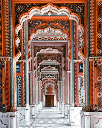 Decorated arches in Jaipur