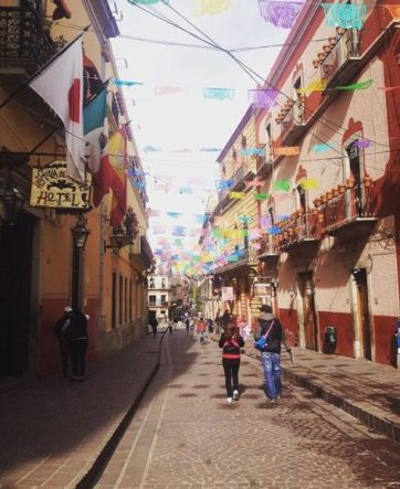 A street in Guanajuato, Mexico