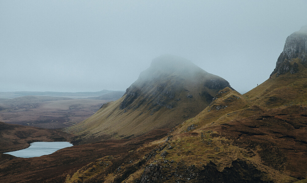 The Quiraing on the Isle of Skye.