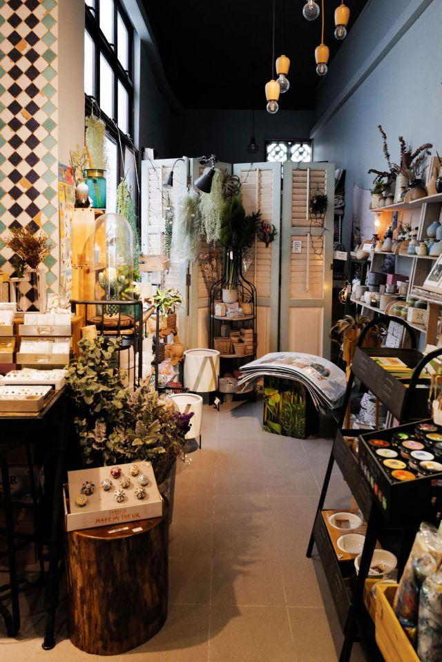 An eclectic shop in Singapore's Katong/Joo Chiat Neighborhood