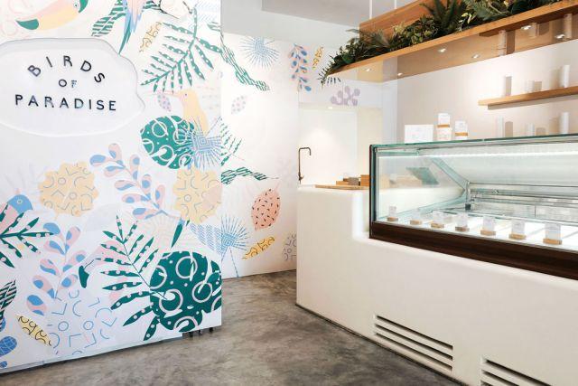 An ice cream shop in Singapore's Katong/Joo Chiat neighborhood