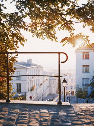 A staircase in Montmarte, Paris.