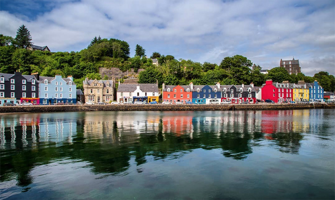 Tobermory, Scotland, one of the most colorful places around the world