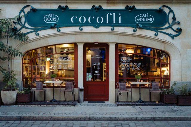 cocofli creative cafe in wroclaw poland