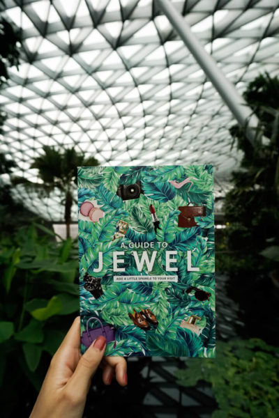a guide to jewel at singapore's changi airport