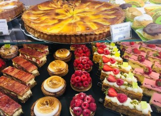 Picture of cakes in Arles, France.