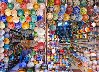 moroccan-colors-dishes