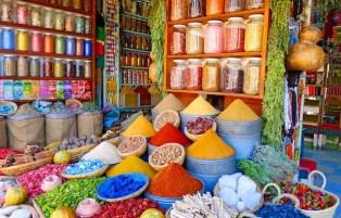 moroccan colors souks