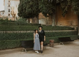 Dilara and Justine in Barcelona