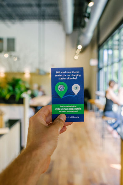 electric car charging pamphlet