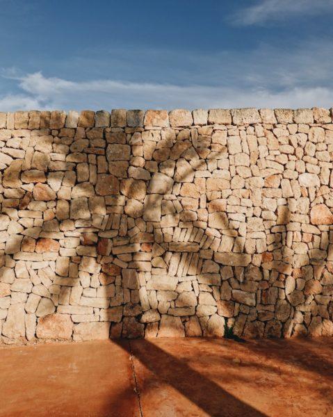stone wall francesca grima