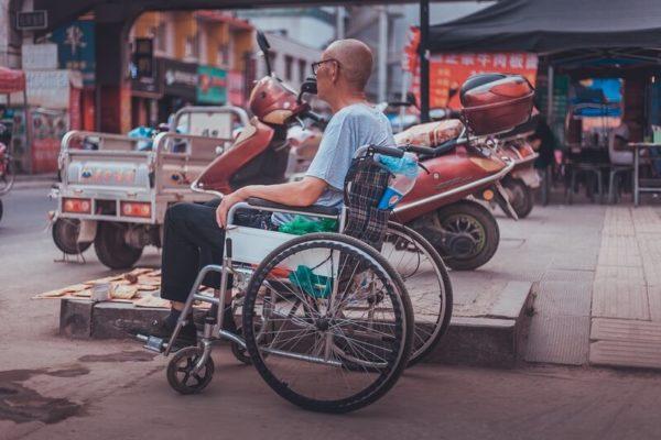 traveler using wheelchair