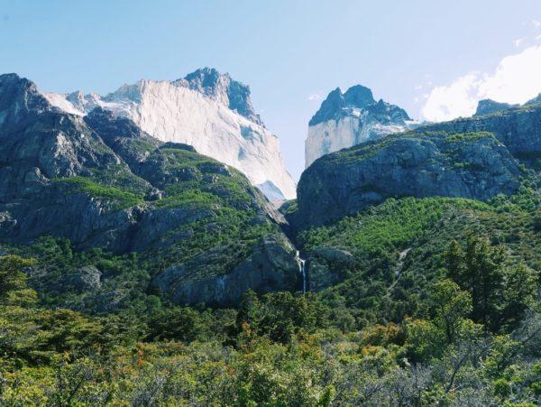 views of patagonian scenery