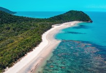 cape tribulation in far north queensland
