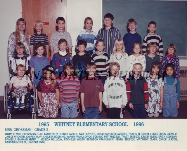 Whitney School 1995-1996 Grade 2