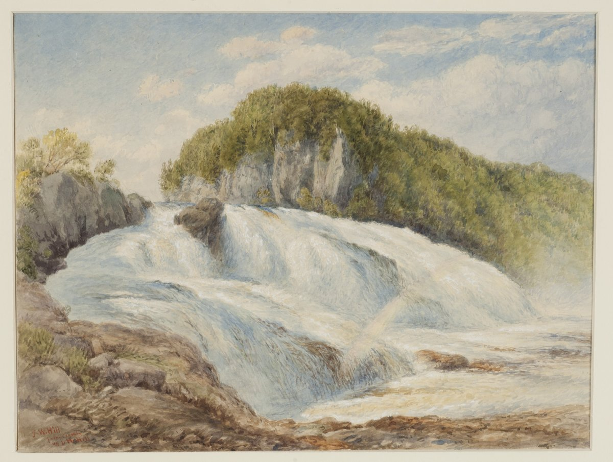 Great Falls Of The Hudson