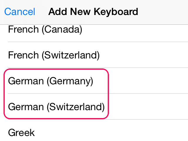 How To Type Umlaut Letters On An IPhone