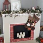 How To Make A Cardboard Christmas Fireplace Ehow