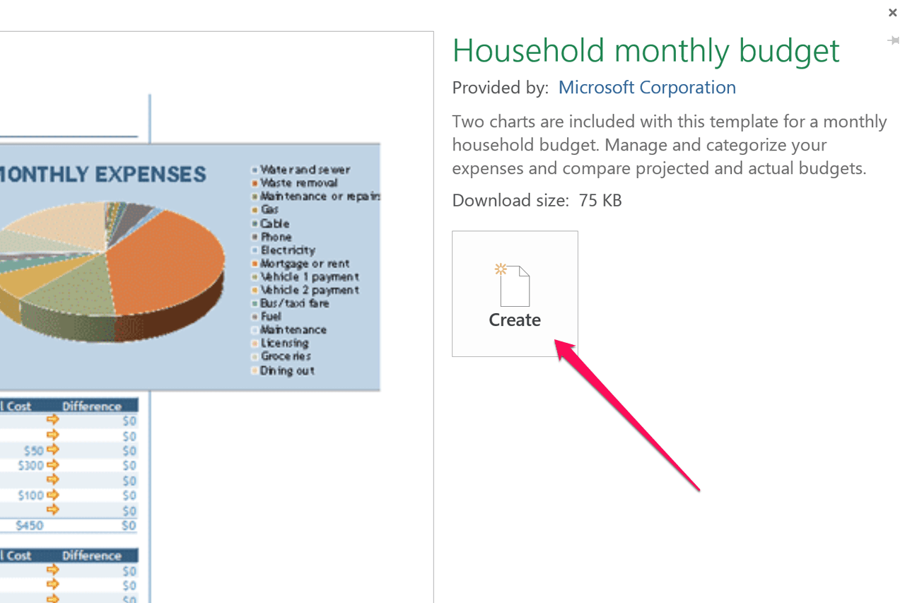 How Do I Create An Excel Budget Worksheet