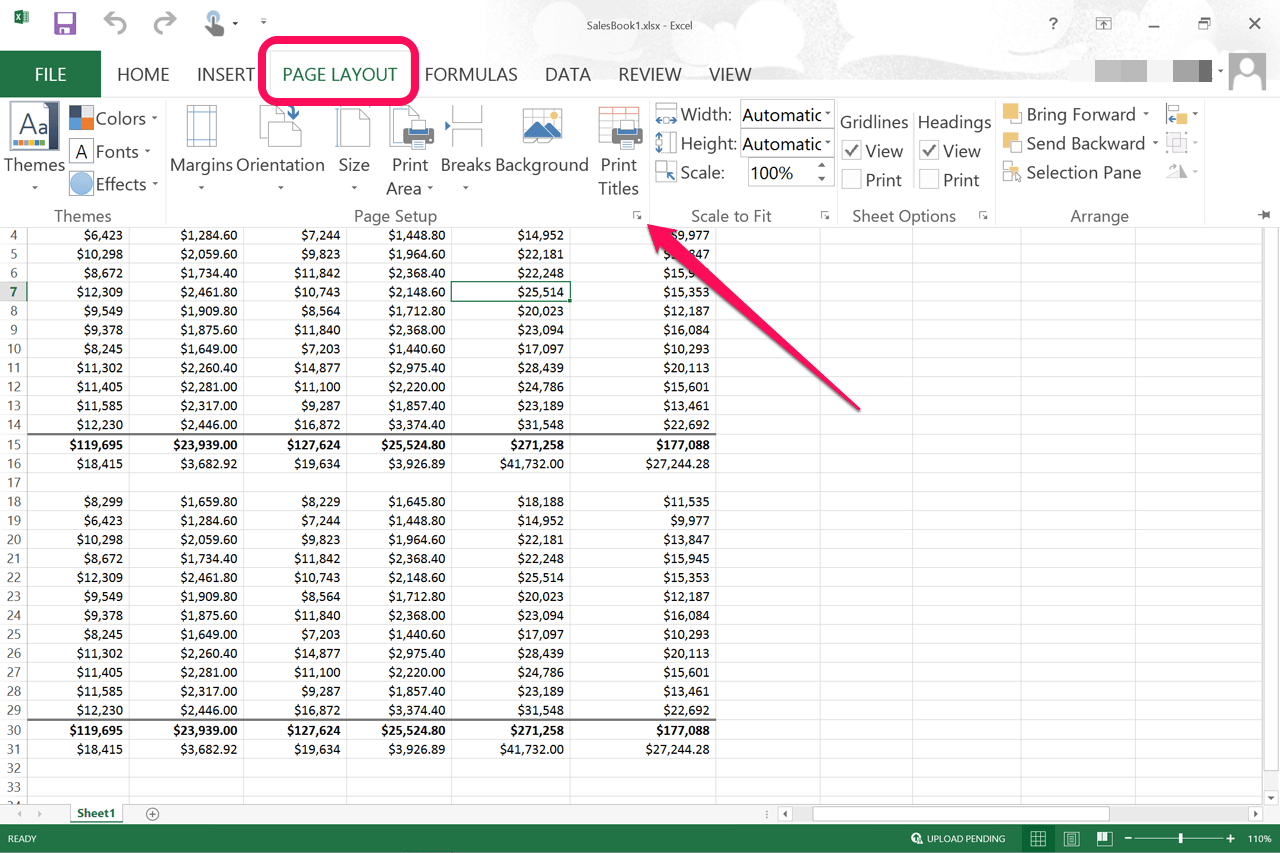 How To Center Worksheets Both Horizontally Amp Vertically In Excel