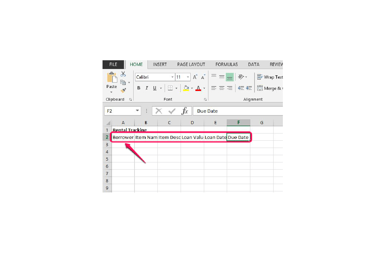 How Do I Design An Excel Spreadsheet To Track Rentals