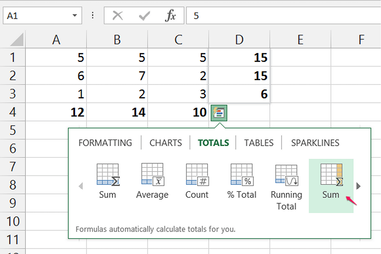 Excel Sum Between Different Sheets