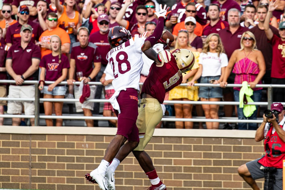 Notebook: Timely Turnovers, First Half Offense Help Eagles Beat Hokies to Start Season