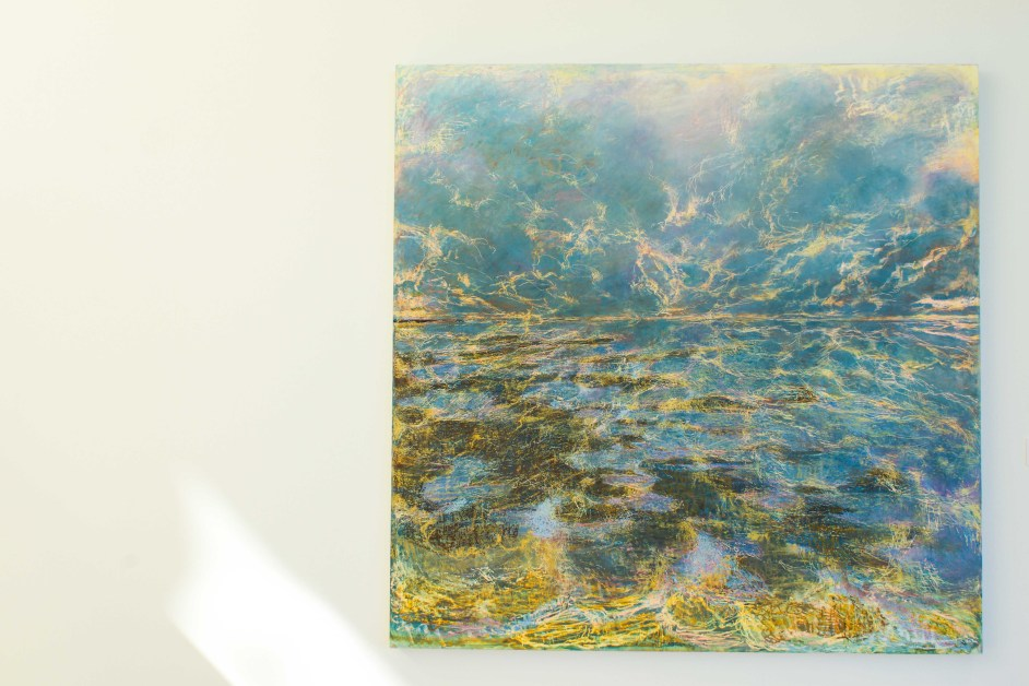 Former BC Professor Displays Artwork at McMullen