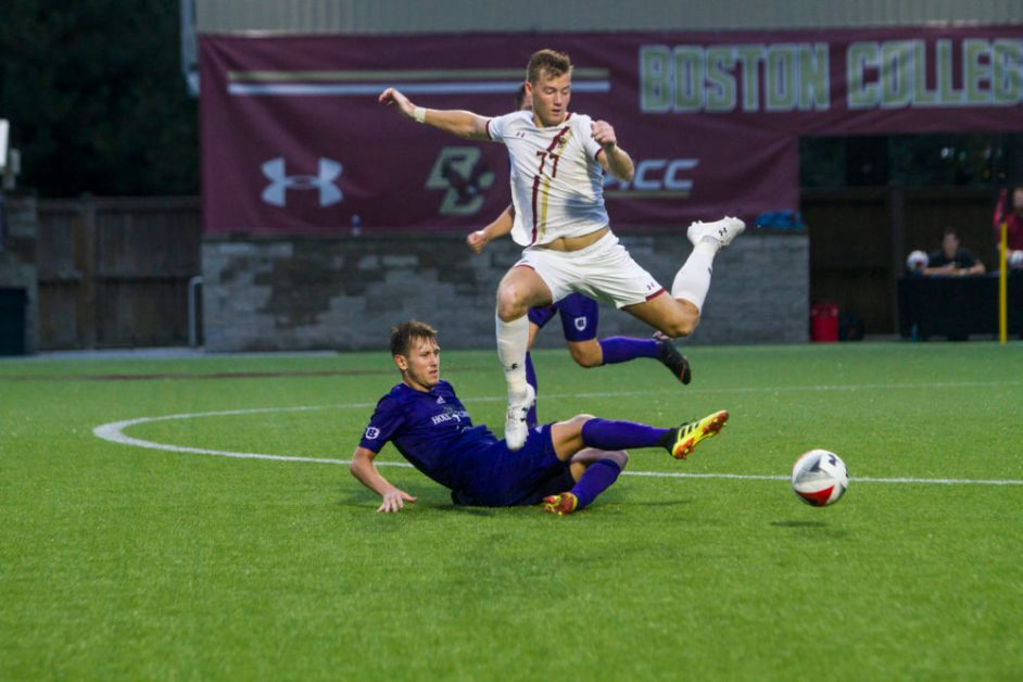 Sahagun's Late Game Winner Boosts Eagles to Thrilling Win Over Holy Cross