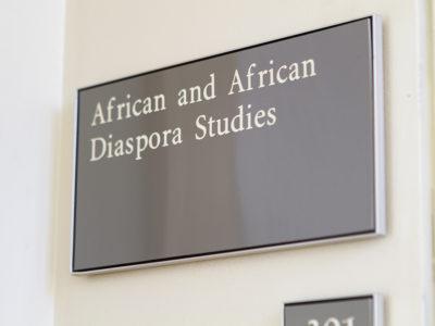 African and African Diaspora Studies Now a Major