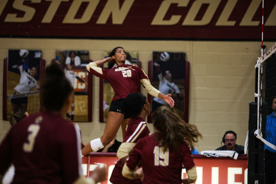 BC Avoids Blowing Two-Set Lead, Beats North Carolina State