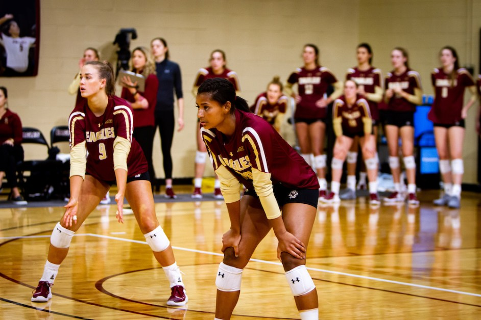 BC Drops Second in a Row, Falls to FSU in Straight Sets