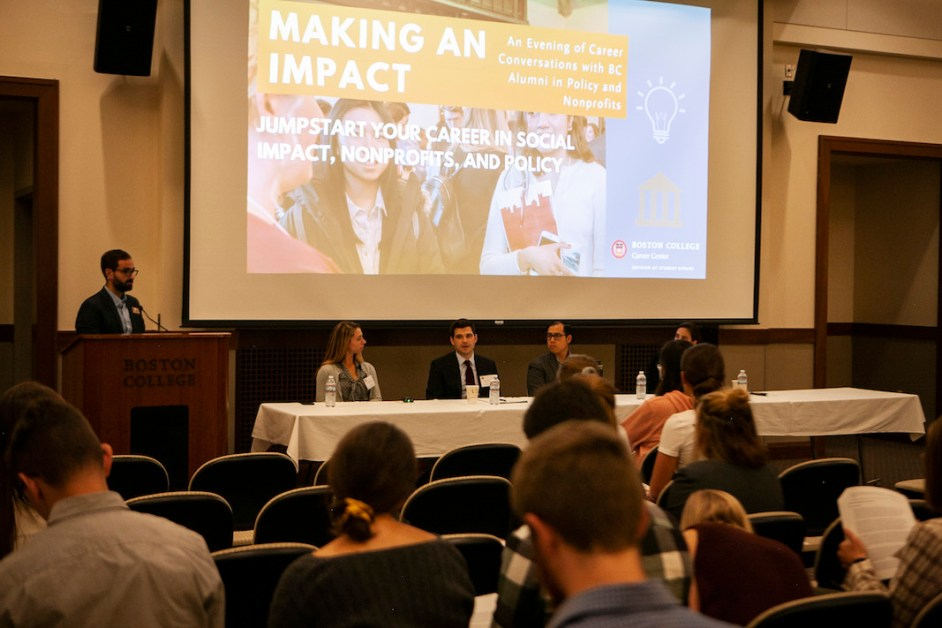 Career Center Hosts Panel for Alumni in Public Policy