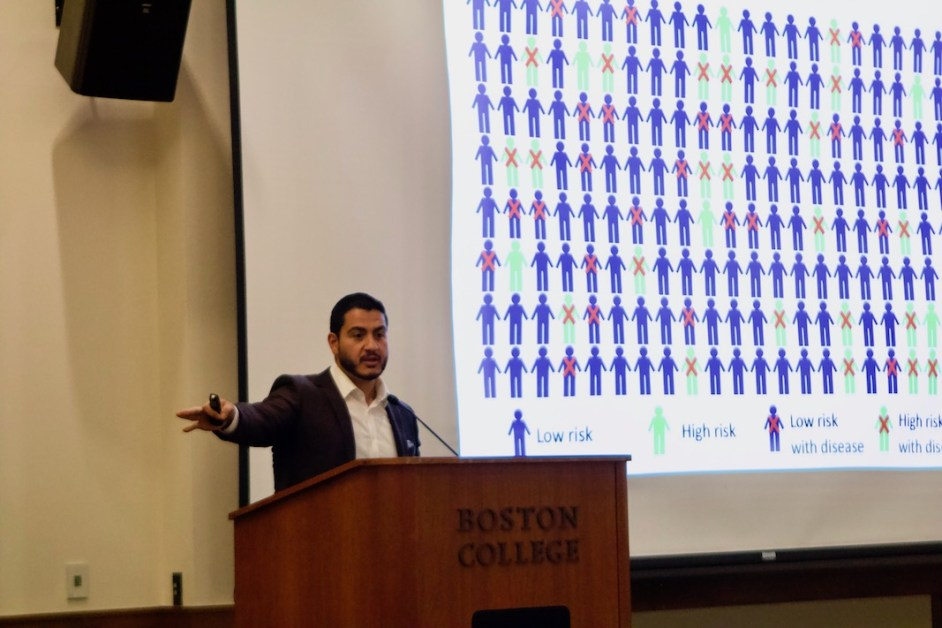 El-Sayed Shares Experience in Public Health