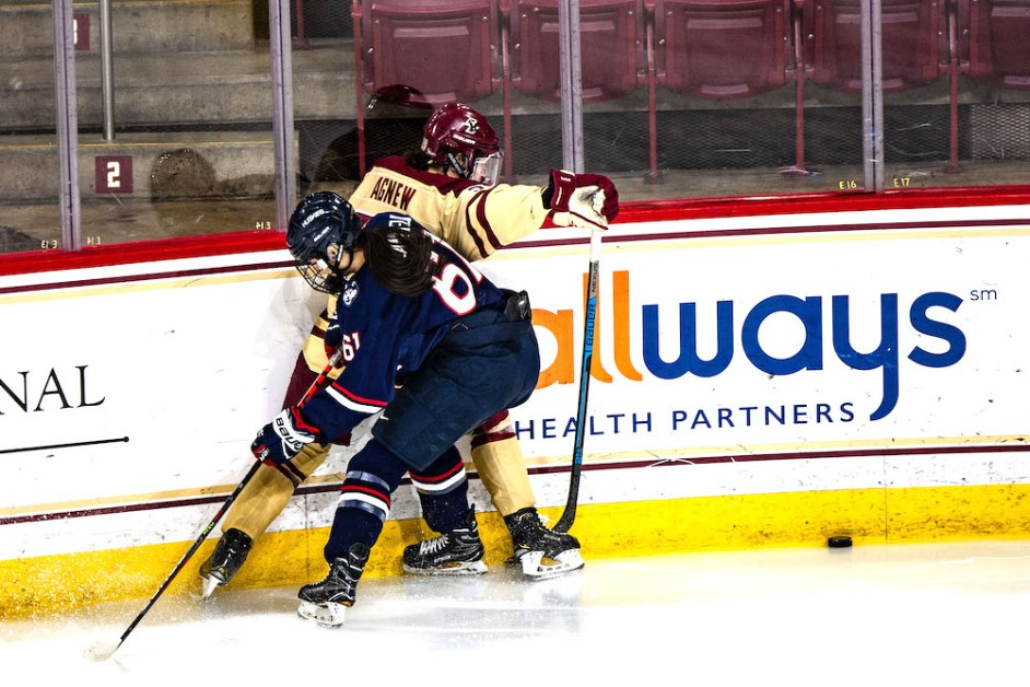Eagles Fall Short, Lose 2-1 to UConn
