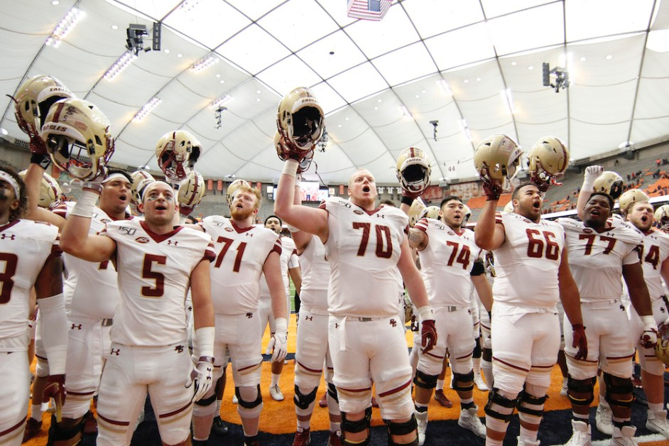 Early Signing Period Draws Nine Recruits for BC Football