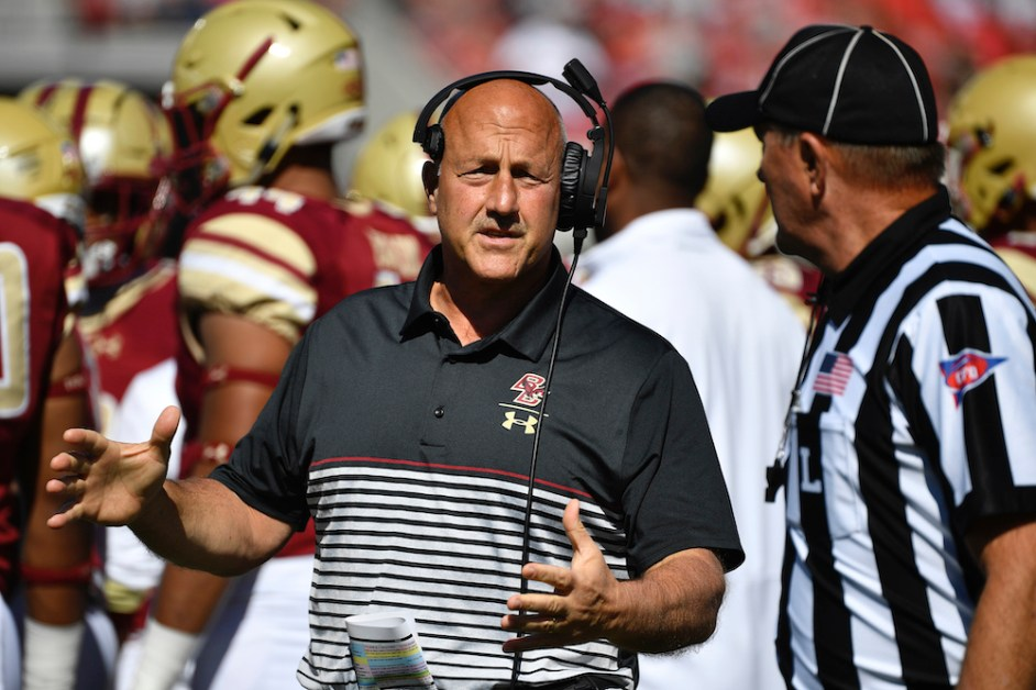 Former BC Head Coach Steve Addazio Hired by Colorado State