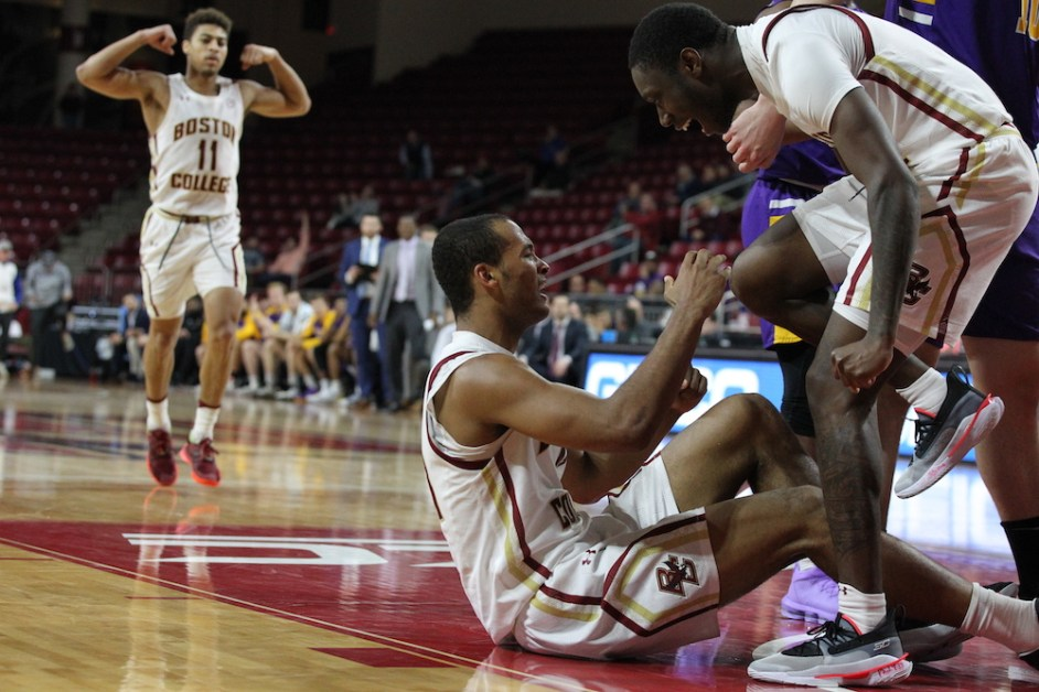 Second Half Surge Carries Eagles Past Albany