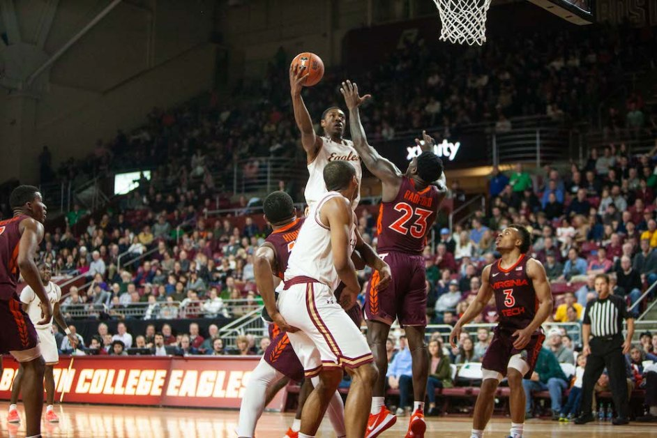 Hamilton, Defense Lead Eagles to Upset Over Virginia Tech