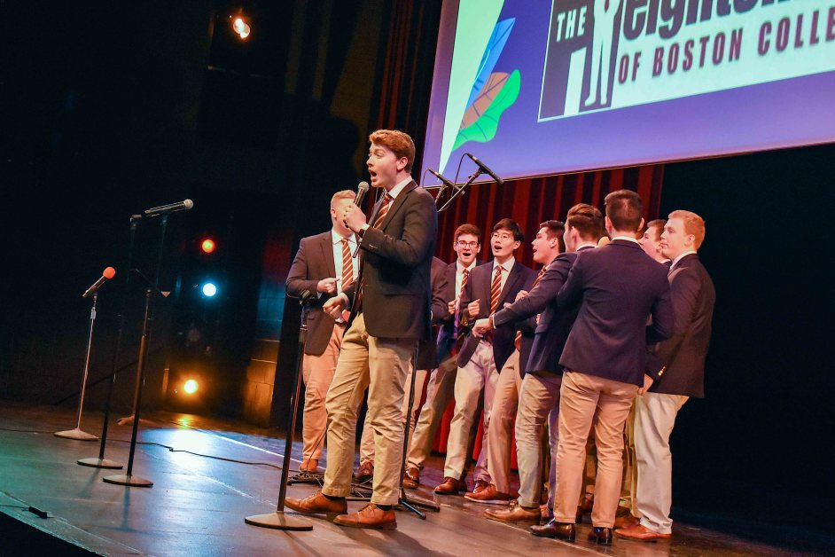 The Sharps Serenade to Victory at the A Capella Riff-Off